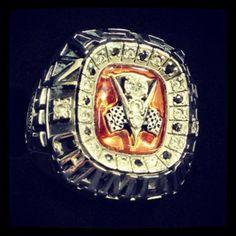 Max Gresham's NASCAR K Series Championship Ring 2011.