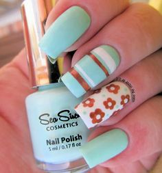 Beautiful mani by It's All About the Polish