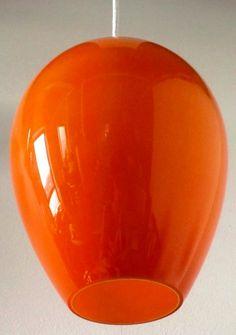 Retro Holmegaard glass light shade