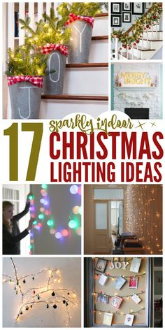There is something so magical about Christmas lights in general. But indoors, with all other lights off, it's a whole new world. Here are some inspiring beautiful indoor Christmas light ideas that will transform your holiday season.