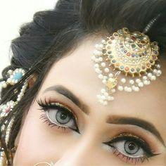 Follow Hajirkhan777 Bride Eye Makeup Stylish