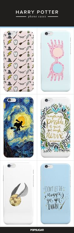 Harry Potter Fans Will Freak Over These Phone Cases