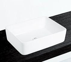 Kleines Keramik Aufsatz Waschbecken rund 28cm Gäste-Bad Nero https ... | {Waschbecken rund aufsatz 71}