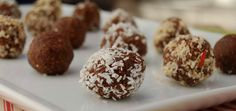 Raw Cacao Almond Truffles With Superfoods