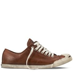 Converse - Jack Purcell Low Profile Leather - Low - British Tan ($50-100) - Svpply