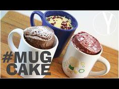 Mug Cake - Pastel en una taza en 2 minutos al Microondas - Sin Horno - YOCOMO - YouTube