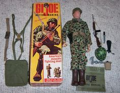 """Yeah, I had the original G.I. Joe when he came out in 1964. Remember, Joe wasn't a doll, he was """"America's movable fighting man."""""""