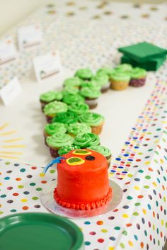 """Photo 7 of birthday- Very Hungry Caterpillar / Birthday """"Amarah's """"A Very Hungry Caterpillar"""" Birthday Party"""" Birthday Themes For Boys, Baby First Birthday, Birthday Fun, First Birthday Parties, First Birthdays, Birthday Ideas, Hungry Caterpillar Party, December Birthday, Diy Baby Gifts"""