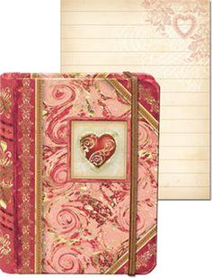 Little Obsessed - Tiny Pocket Journal - #Heart, $5.00 (http://www.littleobsessed.com/tiny-pocket-journal-heart/)
