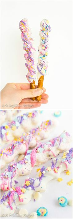 Unicorn Horns - A baJillian Recipes -You can find Horns and more on our website.Unicorn Horns - A baJillian Recipes - Unicorn Horn For Horse, Unicorn Horn Headband, Diy Unicorn Horns, Unicorn Hunter, Black Unicorn, Mermaid Cake Pops, Mermaid Cakes, Unicorn Cake Pops, Unicorn Cookies