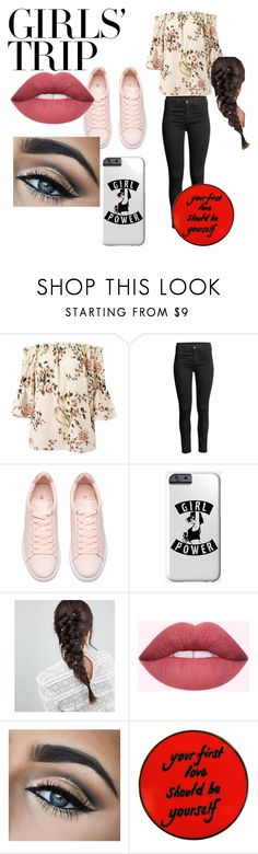 """lemon bubble"" by yaderi ❤ liked on Polyvore featuring Sans Souci, ASOS, girlstrip and WineTastingOutfit"