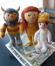 If only I could knit (or crochet or whatever this is) these would be MINE!!! Anyone want a new project they want to donate to a librarian? ;)