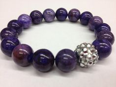 ON SALE Violet Bracelet by CharmCandie on Etsy, $10.00