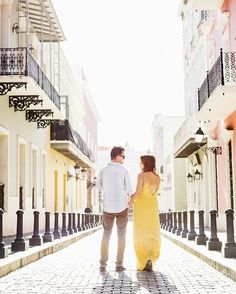 2e570887f39 Hand in Hand    Old San Juan Engagament Session💕 NM Photos E Photo