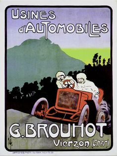 1929 Antibes Grand Prix Vintage Auto Racing Poster 6 sizes, matte+glossy avail