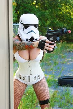Sexy Storm Trooper - Star Wars.....
