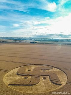 Crop Circle at Cooks Plantation, Nr Beckhampton, Wiltshire. Reported 27th August…