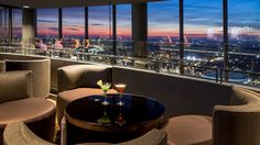 6 Most Romantic Atlanta Dinners with a View  Pictured: Sun Dial Restaurant