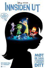 Inside Out (Innsiden Ut) Norwegian cast Kristiansand, Inside Out, Disney Pixar, It Cast, The Unit, Teaching, School, Movies, Movie Posters