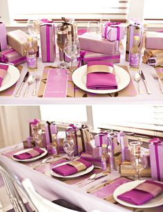 life is a gift table setting and decor