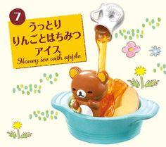 Rilakkuma Honey Sweets Set Re-Ment miniature blind box 10
