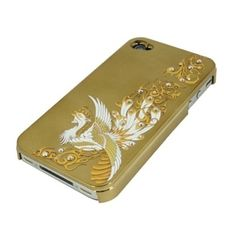Gold Chinese Phoenix for iPhone4/4S