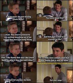 Hahahaha. Jamie, I love you. I miss this show