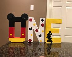 Excited to share this item from my shop: Mickey Mouse Custom Name Letters - price is per letter Mickey Mouse Birthday Decorations, Mickey 1st Birthdays, Mickey Mouse First Birthday, Mickey Mouse Clubhouse Birthday Party, Baby Boy 1st Birthday, Birthday Ideas, Disney Party Decorations, Mickey Mouse Letters, Mickey Mouse Bday