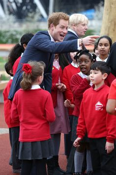 In April 2014, Prince Harry visited the Queen Elizabeth Olympic Park in Stratford, which was being opened to the public for the first time since the London 2012 Olympic  Games.
