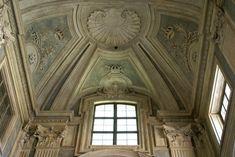 Torino, Palazzo Madama, Treppenhaus von Filippo Juvarra (stairwell by Filippo Juvarra) Turin, Palazzo, Classical Interior Design, Piedmont Italy, Baroque Architecture, Chiaroscuro, Concrete, Luxury, Building