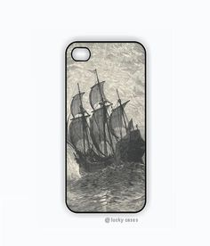 Vintage+Pirate+Ship+iPhone+5+Case+iPhone+4+Case+by+luckycases,+$15.00