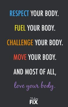 Fitness Motivation : Description Respect your body enough to give it the LOVE it deserves! fitspo // motivation // exercise // fitness // 21 Day Fix // workout // inspiration // quote // quotes // love // health // wellness // fitspiration Motivation Regime, Fitness Motivation Quotes, Health Motivation, Weight Loss Motivation, Exercise Motivation, 21 Day Fix Workouts, Easy Workouts, Motivation Inspiration, Fitness Inspiration