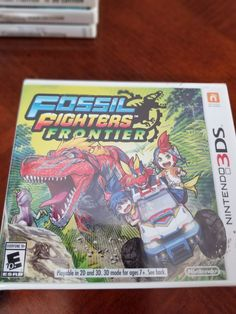 Fossil Fighters Frontiers Nintendo 3DS