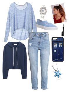"""""""Sans titre #47"""" by valentine-bl ❤ liked on Polyvore featuring Victoria's Secret, H&M, MANGO, Vans, CellPowerCases, Missguided, Rolex, Paul Morelli and MAC Cosmetics"""