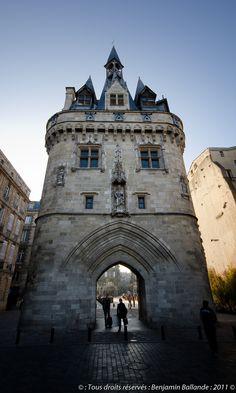 Porte Cailhau on the Place du Palais in Bordeaux, Gironde, Southwestern France ✯ ωнιмѕу ѕαη∂у