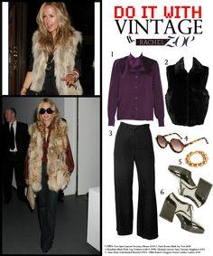 Do It With Vintage: Style Like Rachel Zoe | C. Madeleine's Vintage