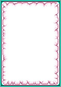 Frame Border Design, Page Borders Design, Borders For Paper, Borders And Frames, Music Border, Tree Outline, Learning Arabic, Frame Clipart, Paper Frames