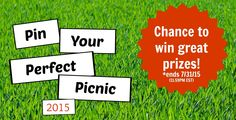 "Enter the 2015 Aunt Nellie's and READ Salads ""Pin Your Perfect Picnic"" Contest"