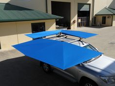 For all your camping, fishing, boating and vehicle awning needs, the Clevershade has you covered. Off Road Camping, Camping Gear, Car Awnings, Homemade Lanterns, Trailer Awning, Off Road Trailer, Roof Top Tent, Transporter, Dark Places