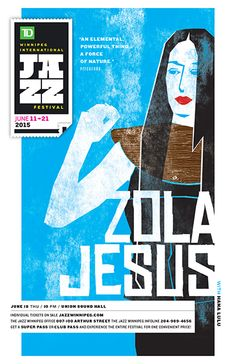 GigPosters.com - Zola Jesus