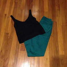 Teal High Waisted Super Skinny Jeans high waisted jeans , super cute with crop tops ! only worn a few times, no stains. like new ! refuge Pants