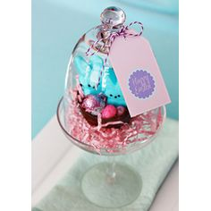 Peeps In A Nest From @HostessWithThe Mostess  #Easter #Desserts #Sweet #treats #Peeps