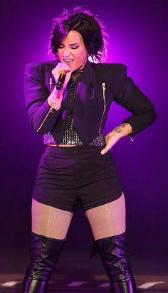 Demi Lovato at the Crown Theatre, Perth, Australia - April 21st #DemiWorldTour