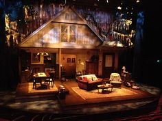 The Savannah Disputation. The Colony Theatre. Scenic design by Stephen Gifford.