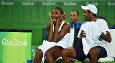 Venus Williams and Rajeev Ram advance to the Gold medal match at the Olympic Tennis Event - Rio 2016 #VenusWilliams #RajeevRam #OlympicTennis #2016Olympics #Olympics2016