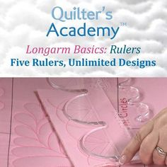 LONGARM BASICS Five Rulers Unlimited Designs NEW DVD Accurate Machine Quilting