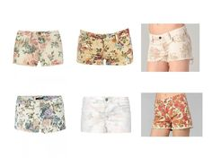 A little shabby chic shorts