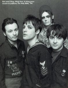 Richey Edwards, Cult Of Personality, I Miss Him, Husband, Punk, Group Photos, Street, 1990s, Musicians