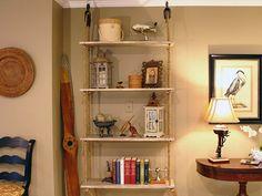 Rope Shelves - Palmetto 1