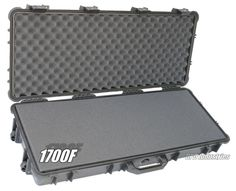 1700 with solid foam | large case for rifle and handguns